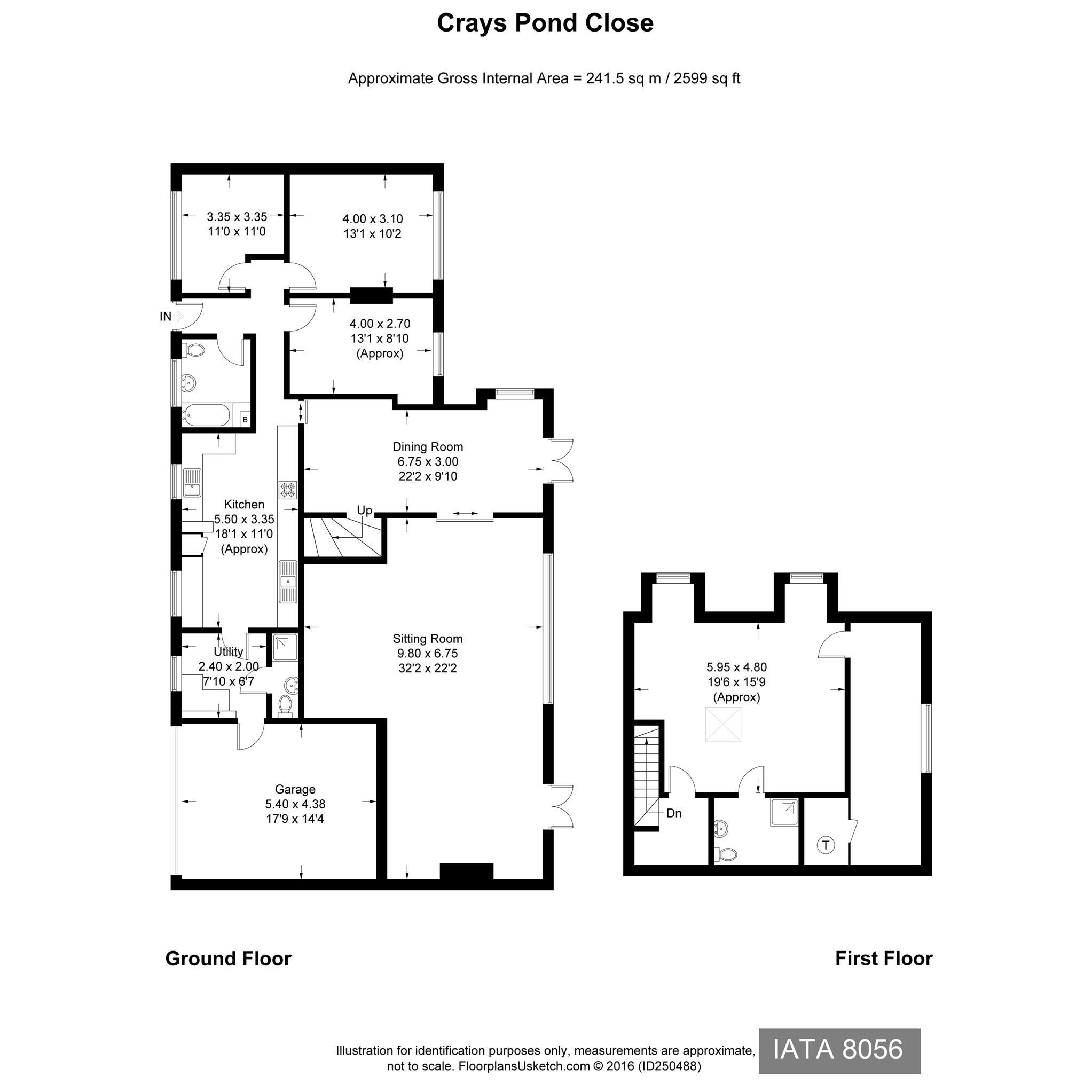 Crays Pond Close Reading Plans And Diagram Epc For Iata8056